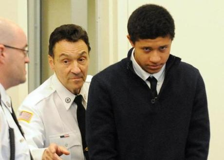 Philip Chism was arraigned in Salem Superior Cour in December.
